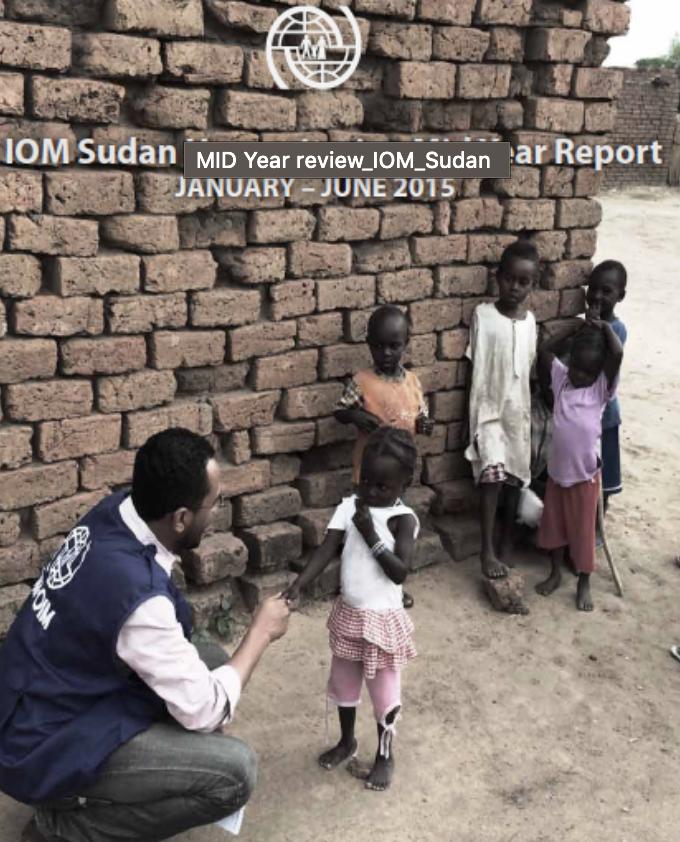 IOM Sudan Humanitarian Mid Year Report, January - June 2015