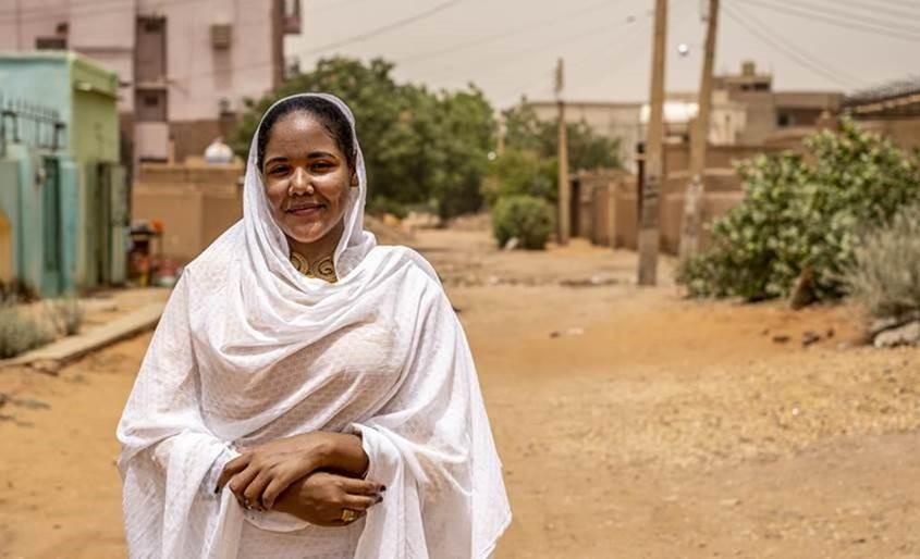 Roaa Bakri Bilal, women's rights activist and political hopeful, North Khartoum
