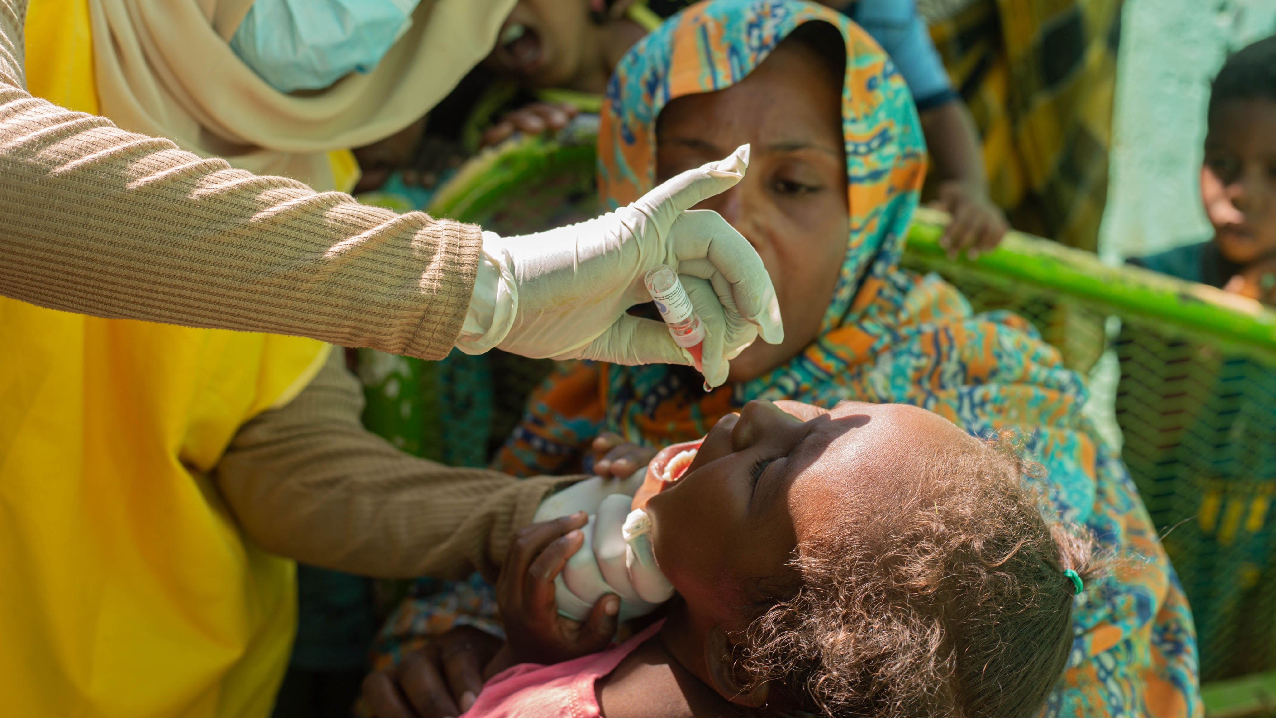 Sudan kicks off second response campaign against polio outbreak