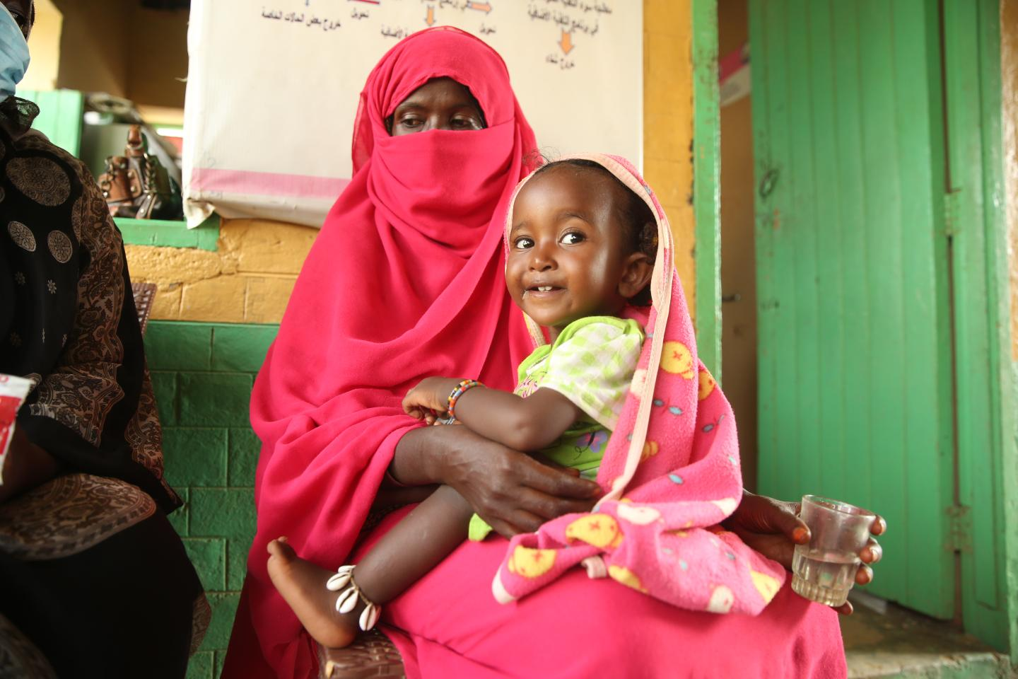 Nutrition campaign saves little Amaar from malnutrition
