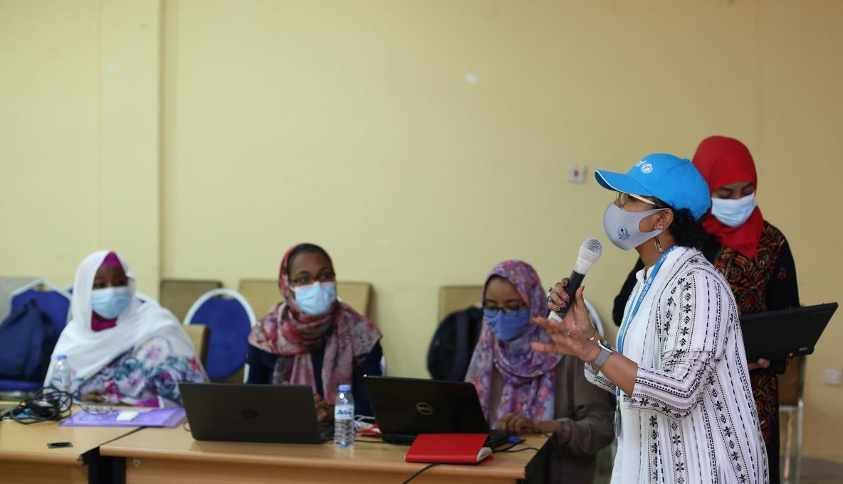 UNICEF trained health promoters to spearhead Covid-19 vaccination campaign roll out in Sudan