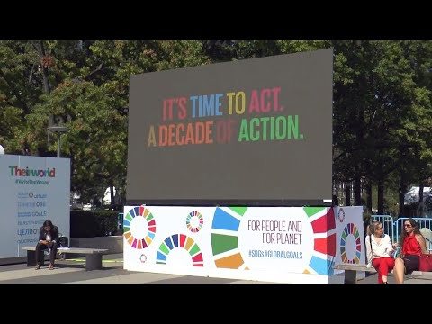 Time for talk is over – a decade of action for the global goals starts now