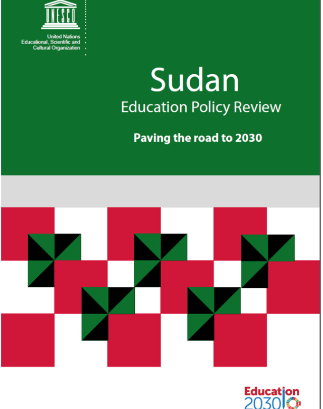 Sudan Education Policy Review UNESCO