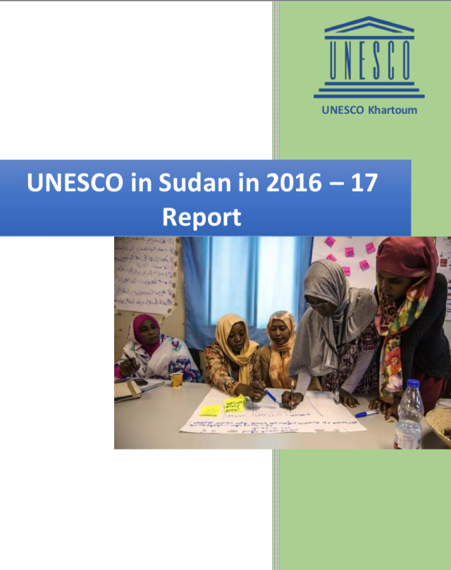 UNESCO in Sudan in 2016-2017 Report